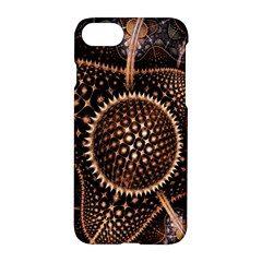 Brown Fractal Balls And Circles Apple Iphone 7 Hardshell Case by BangZart