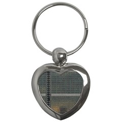 Building Pattern Key Chains (heart)  by BangZart