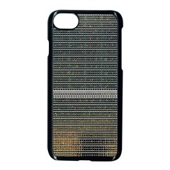 Building Pattern Apple Iphone 7 Seamless Case (black)