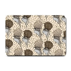 Bouffant Birds Small Doormat