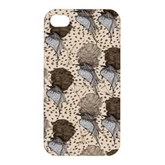 Bouffant Birds Apple Iphone 4/4s Hardshell Case by BangZart