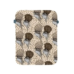Bouffant Birds Apple Ipad 2/3/4 Protective Soft Cases