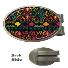 Bohemian Patterns Tribal Money Clips (oval)  by BangZart