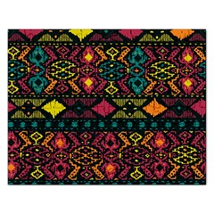 Bohemian Patterns Tribal Rectangular Jigsaw Puzzl by BangZart