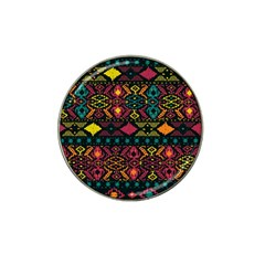 Bohemian Patterns Tribal Hat Clip Ball Marker (10 Pack)