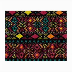 Bohemian Patterns Tribal Small Glasses Cloth