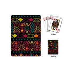 Bohemian Patterns Tribal Playing Cards (mini)
