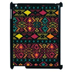 Bohemian Patterns Tribal Apple Ipad 2 Case (black) by BangZart