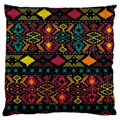 Bohemian Patterns Tribal Large Cushion Case (two Sides)