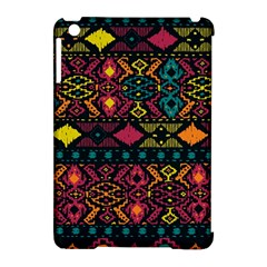 Bohemian Patterns Tribal Apple Ipad Mini Hardshell Case (compatible With Smart Cover)