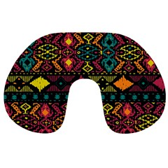 Bohemian Patterns Tribal Travel Neck Pillows by BangZart