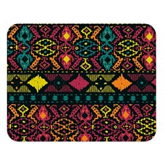 Bohemian Patterns Tribal Double Sided Flano Blanket (large)  by BangZart