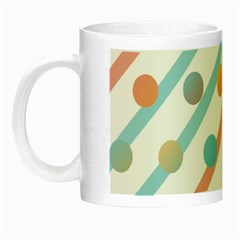 Simple Saturated Pattern Night Luminous Mugs by linceazul