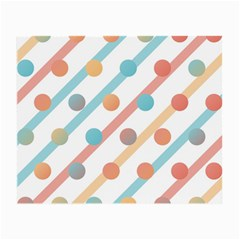 Simple Saturated Pattern Small Glasses Cloth (2 Side) by linceazul