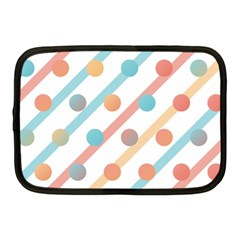 Simple Saturated Pattern Netbook Case (medium)  by linceazul