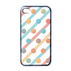 Simple Saturated Pattern Apple Iphone 4 Case (black) by linceazul