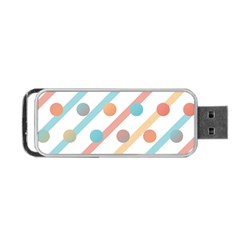 Simple Saturated Pattern Portable Usb Flash (two Sides) by linceazul