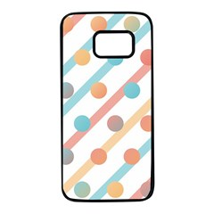 Simple Saturated Pattern Samsung Galaxy S7 Black Seamless Case by linceazul