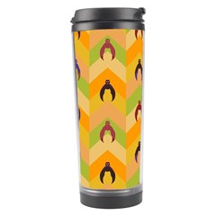 Funny Halloween   Bat Pattern 1 Travel Tumbler by MoreColorsinLife