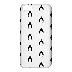 Funny Halloween   Bat Pattern 2 Apple Iphone 5c Hardshell Case by MoreColorsinLife