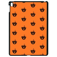Funny Halloween   Burned Skull Pattern Apple Ipad Pro 9 7   Black Seamless Case by MoreColorsinLife