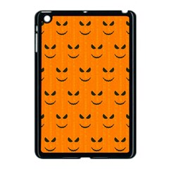 Funny Halloween   Face Pattern Apple Ipad Mini Case (black) by MoreColorsinLife