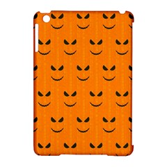 Funny Halloween   Face Pattern Apple Ipad Mini Hardshell Case (compatible With Smart Cover) by MoreColorsinLife