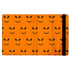 Funny Halloween   Face Pattern Apple Ipad Pro 12 9   Flip Case by MoreColorsinLife