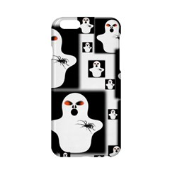Funny Halloween   Ghost Pattern 2 Apple Iphone 6/6s Hardshell Case by MoreColorsinLife