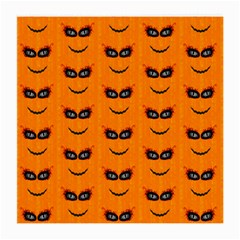 Funny Halloween   Face Pattern 2 Medium Glasses Cloth (2 Side) by MoreColorsinLife