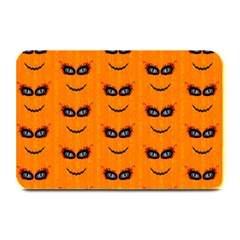 Funny Halloween   Face Pattern 2 Plate Mats by MoreColorsinLife