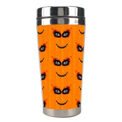 Funny Halloween   Face Pattern 2 Stainless Steel Travel Tumblers by MoreColorsinLife