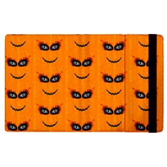 Funny Halloween   Face Pattern 2 Apple Ipad Pro 9 7   Flip Case by MoreColorsinLife
