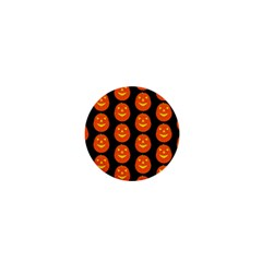 Funny Halloween   Pumpkin Pattern 2 1  Mini Buttons by MoreColorsinLife