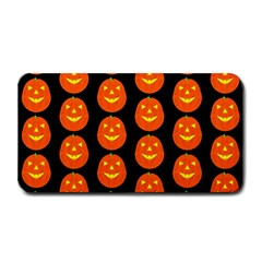 Funny Halloween   Pumpkin Pattern 2 Medium Bar Mats by MoreColorsinLife