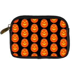 Funny Halloween   Pumpkin Pattern 2 Digital Camera Cases by MoreColorsinLife