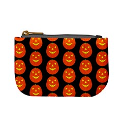 Funny Halloween   Pumpkin Pattern 2 Mini Coin Purses by MoreColorsinLife