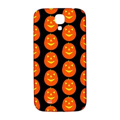 Funny Halloween   Pumpkin Pattern 2 Samsung Galaxy S4 I9500/i9505  Hardshell Back Case by MoreColorsinLife
