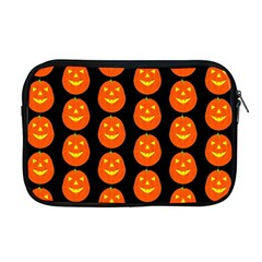 Funny Halloween   Pumpkin Pattern 2 Apple Macbook Pro 17  Zipper Case by MoreColorsinLife