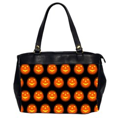 Funny Halloween   Pumpkin Pattern Office Handbags (2 Sides)  by MoreColorsinLife