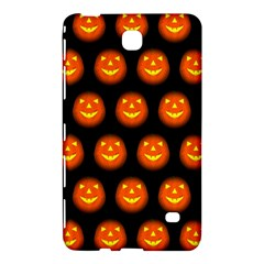 Funny Halloween   Pumpkin Pattern Samsung Galaxy Tab 4 (8 ) Hardshell Case  by MoreColorsinLife