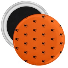 Funny Halloween   Spider Pattern 3  Magnets