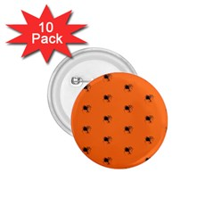 Funny Halloween   Spider Pattern 1.75  Buttons (10 pack)