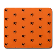 Funny Halloween   Spider Pattern Large Mousepads