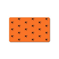 Funny Halloween   Spider Pattern Magnet (Name Card)