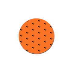 Funny Halloween   Spider Pattern Golf Ball Marker (4 pack)
