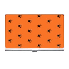 Funny Halloween   Spider Pattern Business Card Holders