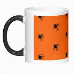Funny Halloween   Spider Pattern Morph Mugs