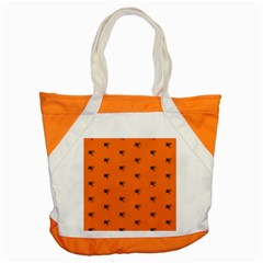 Funny Halloween   Spider Pattern Accent Tote Bag