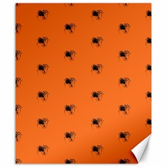 Funny Halloween   Spider Pattern Canvas 20  x 24